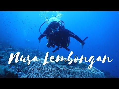 Nusa Lembongan, Bali - Advanced Open Water Certification