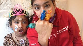 Play and Learn Color with Yummy Chocolate Candy from Ishfi