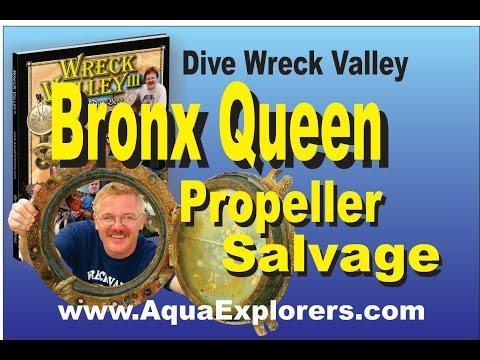 DWV Bronx Queen Propeller marine Salvage