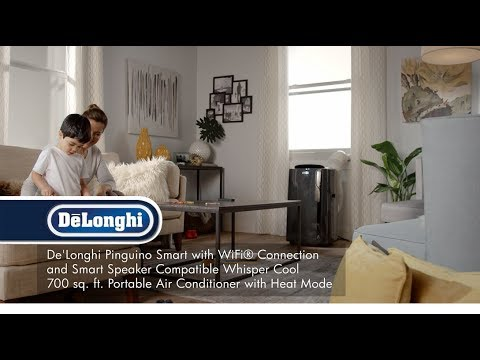 De'Longhi Pinguino Smart PACEL295 Portable Air Conditioner With Heat And Real Feel