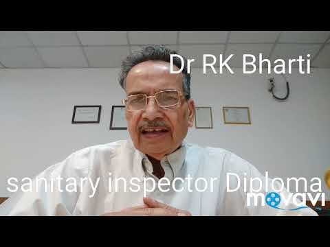 Sanitary Inspector Diploma CourseDr RK Bharti DrRkBharti