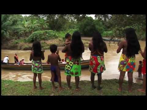 Emberá Indians of Mogue, Panama