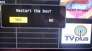 ABS CBN TVplus Cutting Off - Reboot Fix