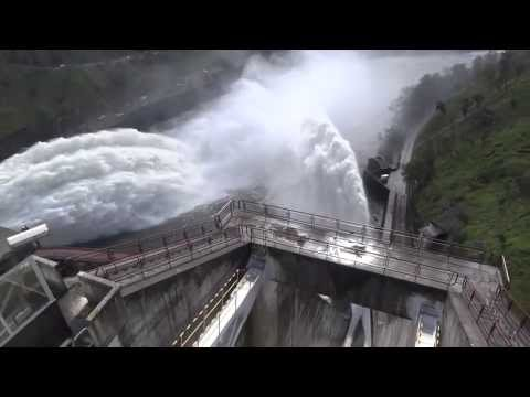 Tehri Garhwal dam flood gates opened Uttarakhand, Gourikund, Chardham floods june 2013 latest video.