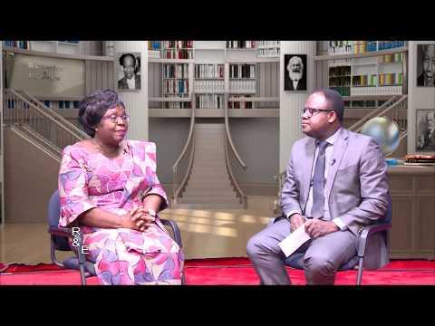 Brigitte Adjamogbo-Johnson se prononce sur la crise togolaise
