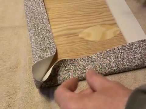 Wrapping Corners On Nautolex Vinyl Youtube