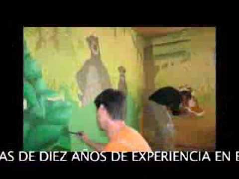 Murales infantiles mp4 youtube - Murales infantiles ...