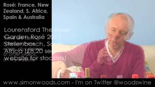 Wine Tasting With Simon Woods: Rosé From France, New Zealand, Spain, South Africa & Australia