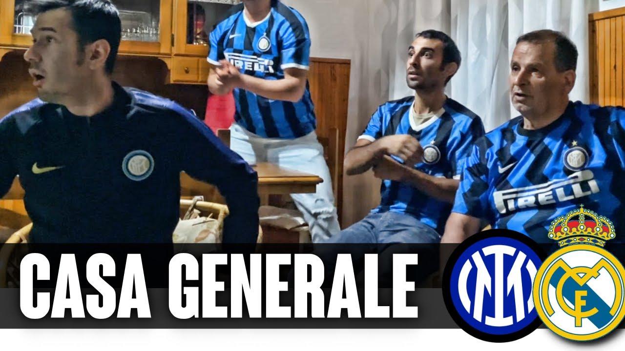 DOCCIA GELATA A CASA GENERALE ➤ INTER-REAL MADRID 0-1 LIVE REACTION