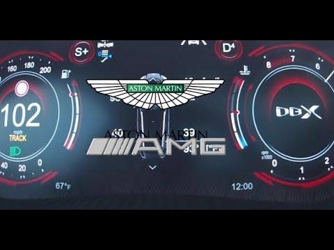 2021 Aston Martin Dbx 550hp Acceleration 0 200 Km H Youtube