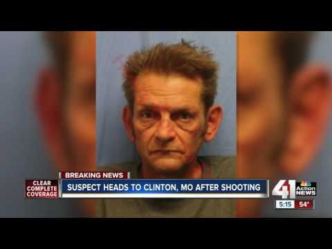 : Suspect heads to Clinton, Missouri after shooting