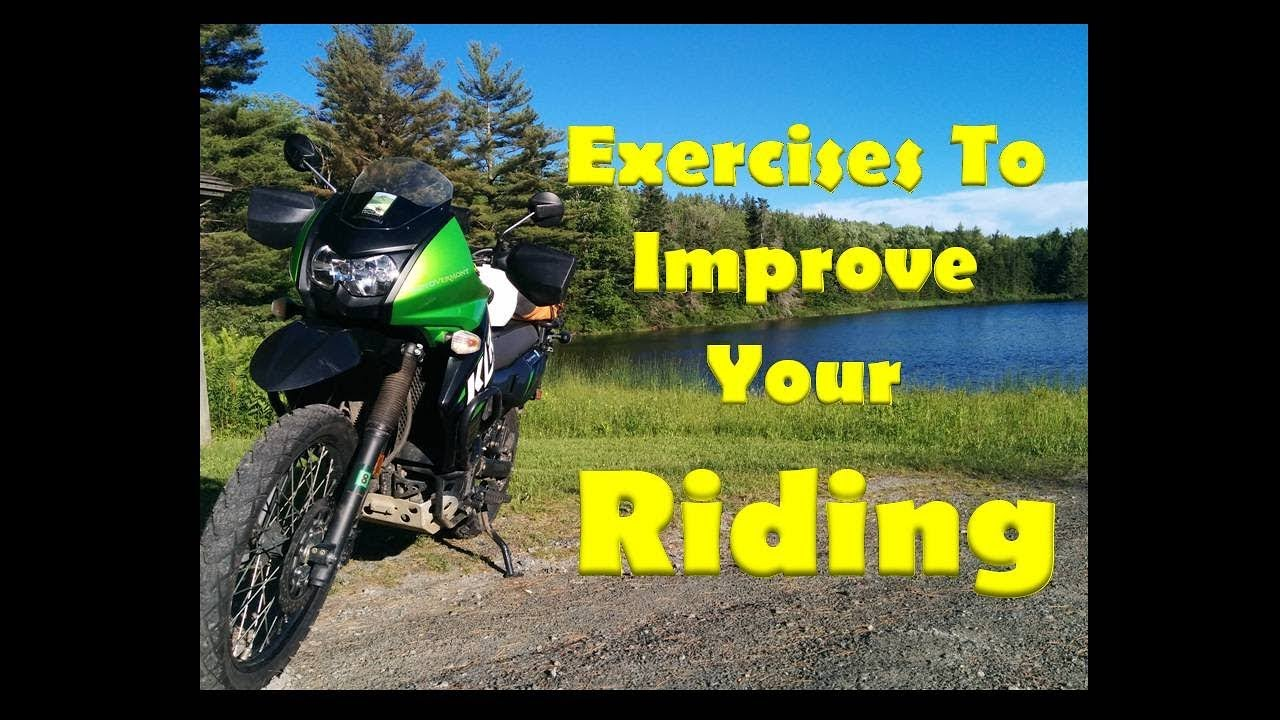 9da430aa13 Exercises to Improve your Motorcycle Riding | Motorcycle Rider Training |  Avoid Backpain