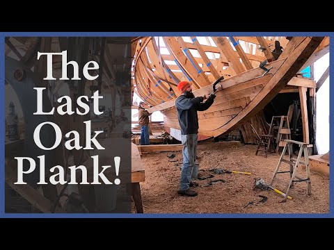 The Last Oak Plank! - Acorn To Arabella