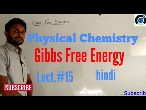 gibbs free energy in Hindi | Gibbs free energy in thermodynamics | what is Gibbs free energy