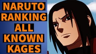 Naruto - Kage Ranking