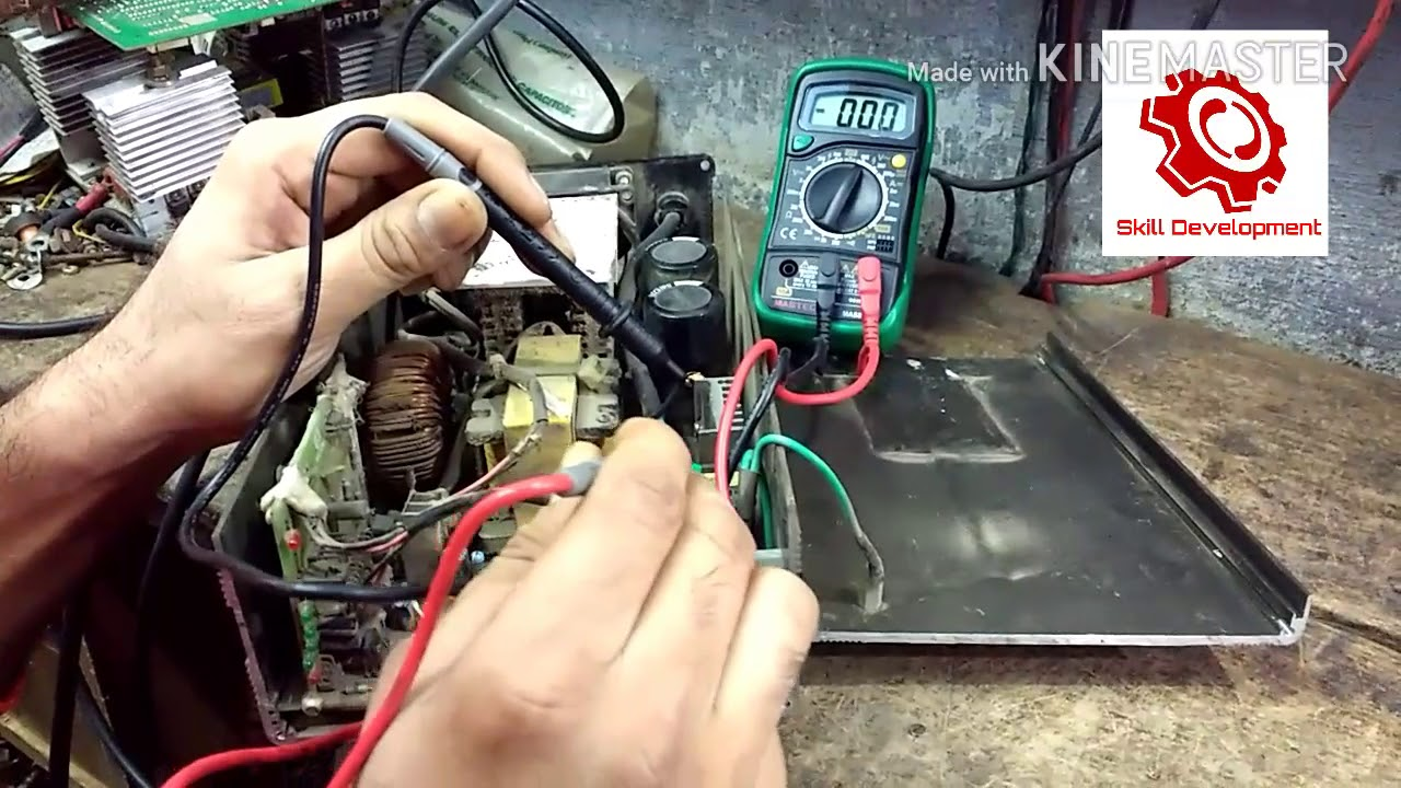 E Rikshaw Battary Charger Repair Skill Development Youtube Circuit Diagram 12v Battery With Auto Cut Off