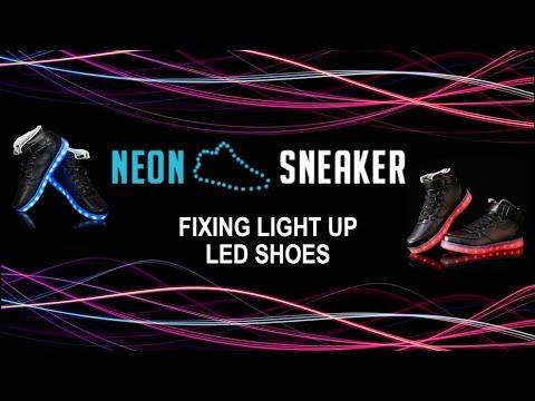 LED Glimmer Lights Skechers S-Lights