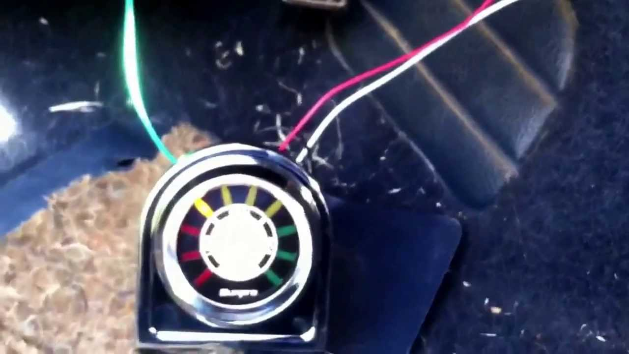 Sunpro Air Fuel Ratio Gauge Wiring Diagram Just Another Dragn Tach Test Fitting My Youtube Rh Com Civic Install