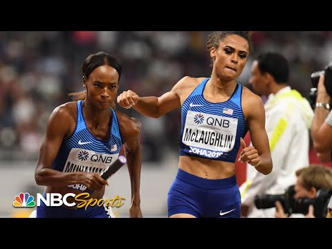 Muhammad and McLaughlin help deliver 4x400 relay crown for Team USA | NBC Sports