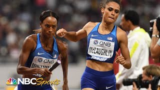 Muhammad and McLaughlin help deliver 4x400 relay crown for Team USA  NBC Sports