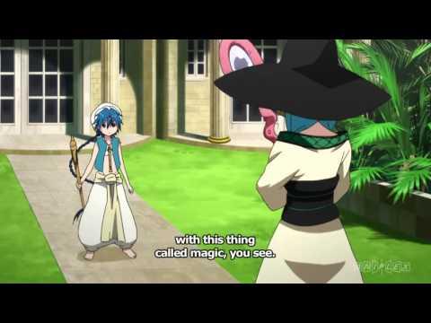 Magi - Aladdin's Training