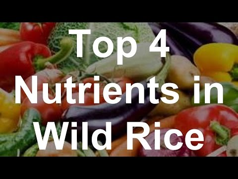 Top 4 Nutrients in Wild Rice – Health Benefits of Wild Rice