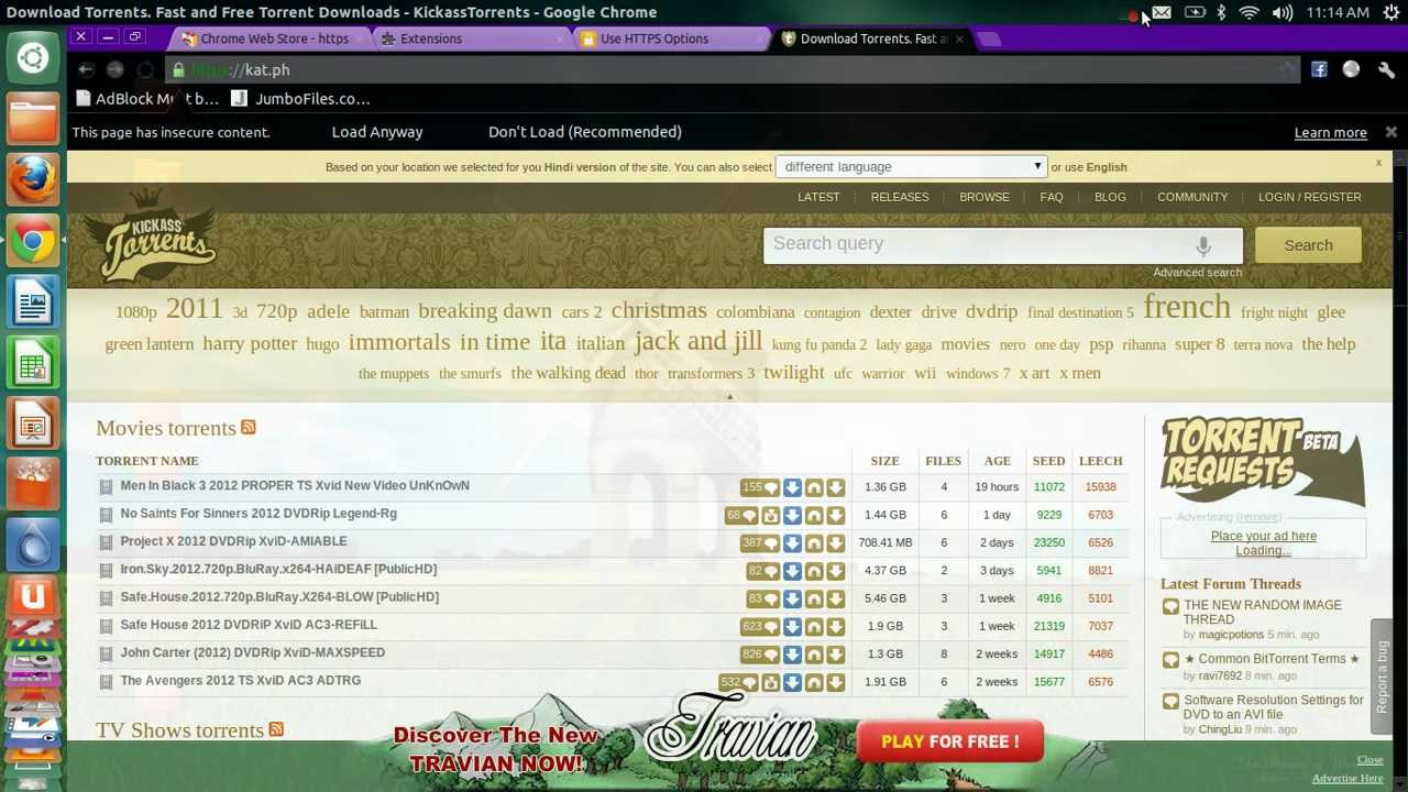 Easiest Method To Open Blocked Torrent Sites In India(permanently