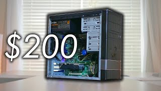 A $200 Gaming PC (Almost) Anyone Can Build - Fortnite, PUBG, & More! (2018) | OzTalksHW