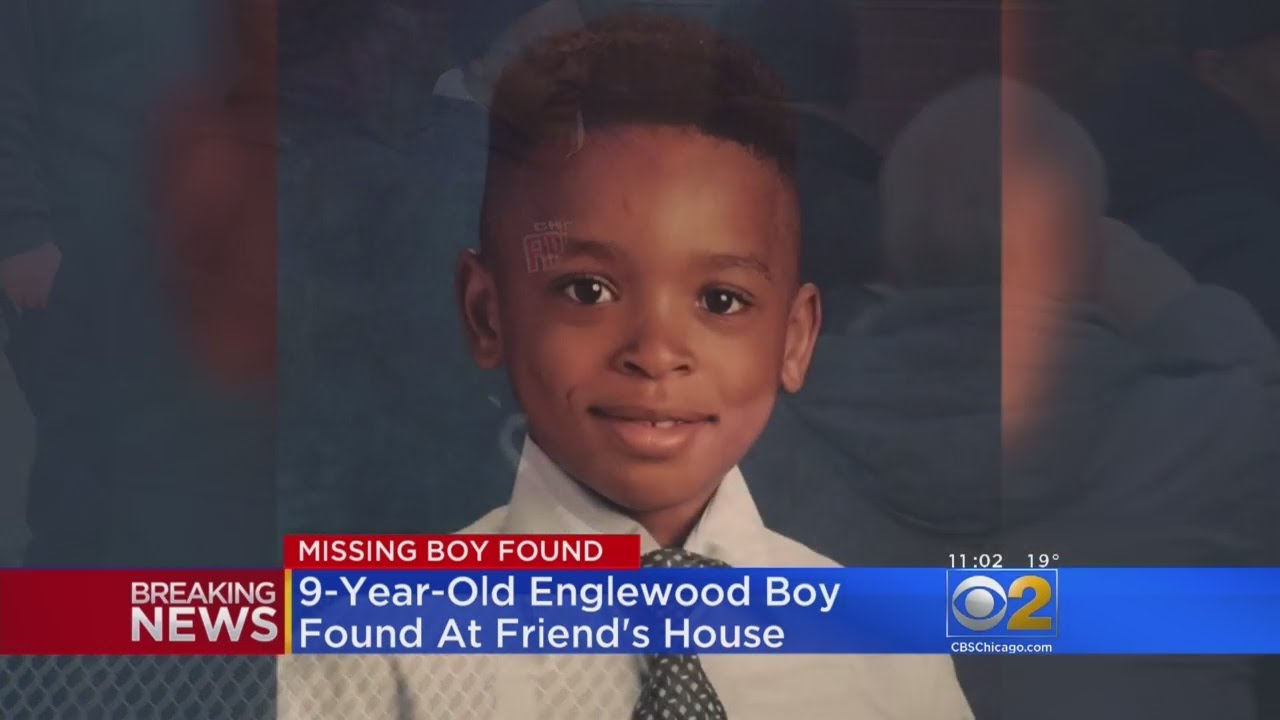 Missing Boy  From Englewood Chicago Found Safe