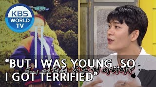 The time when Taeoh cried for 3 hours on the toilet..[Happy Together/2018.10.18]
