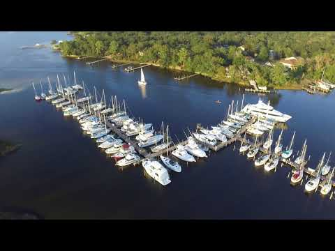 Bluewater Bay Marina Wednesday Night Fun Race 9-27-17 Part 1