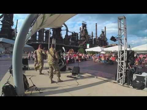 Six-String Soldiers - July 4, 2017 - Steel Stacks, Bethlehem, PA