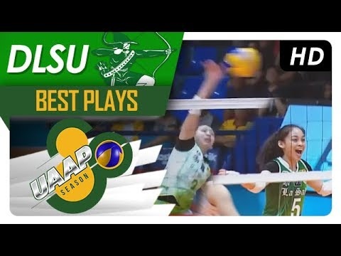 UAAP 80 WV: Dawn Macandili's defense gives green light for Des Cheng's hit! | DLSU | Best Plays