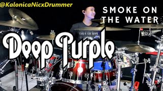 Deep Purple ~ Smoke On The Water // Drum cover by Kalonica Nicx
