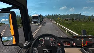 Euro Truck Simulator 2 - MAN TGX Euro 6 Customization and Gameplay [4K 60FPS]