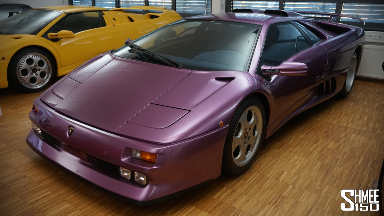 Would You Drive a Pink Lamborghini?