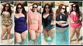 Plus Size Swimwear Lookbook | 6 Swimsuit Outfits
