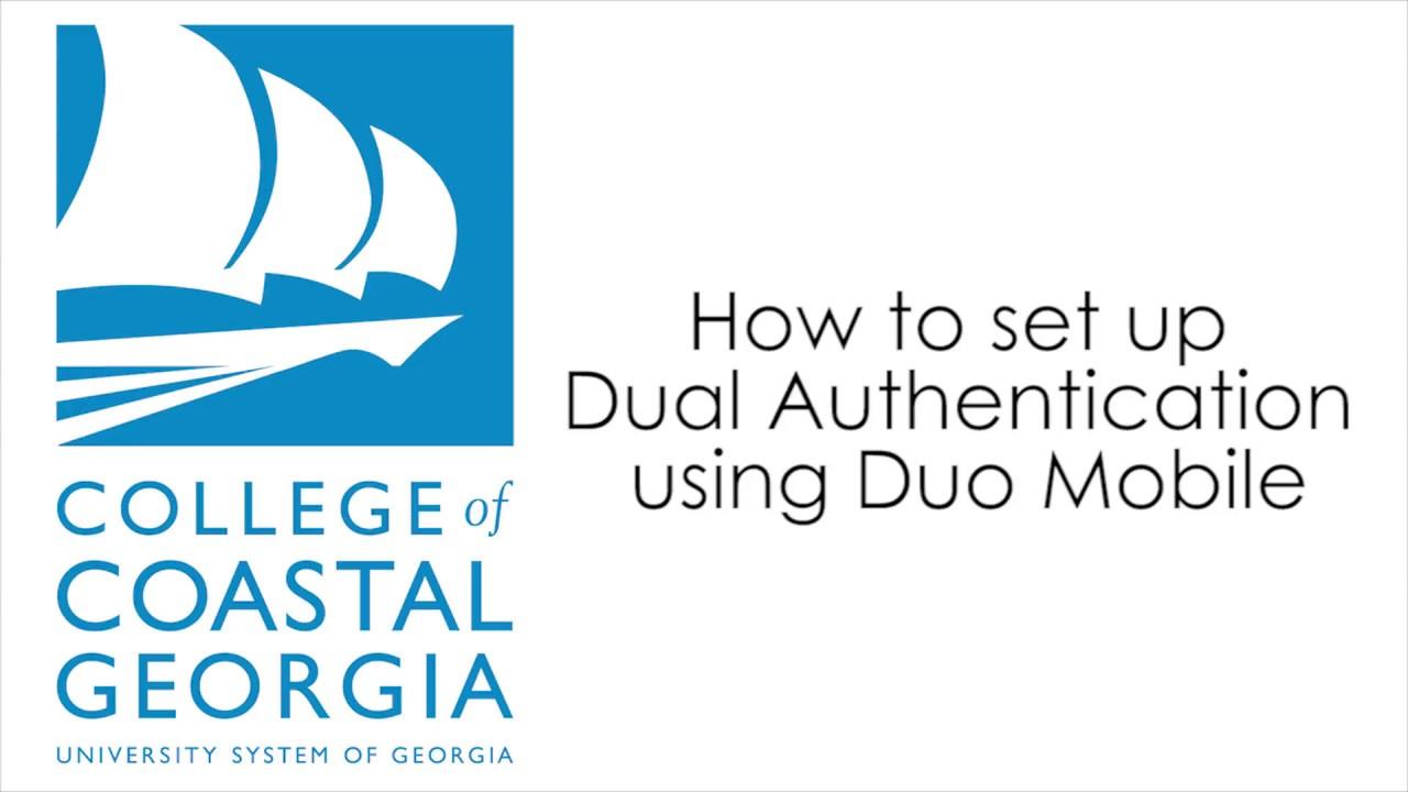 College of Coastal Georgia: Multifactor Authentication