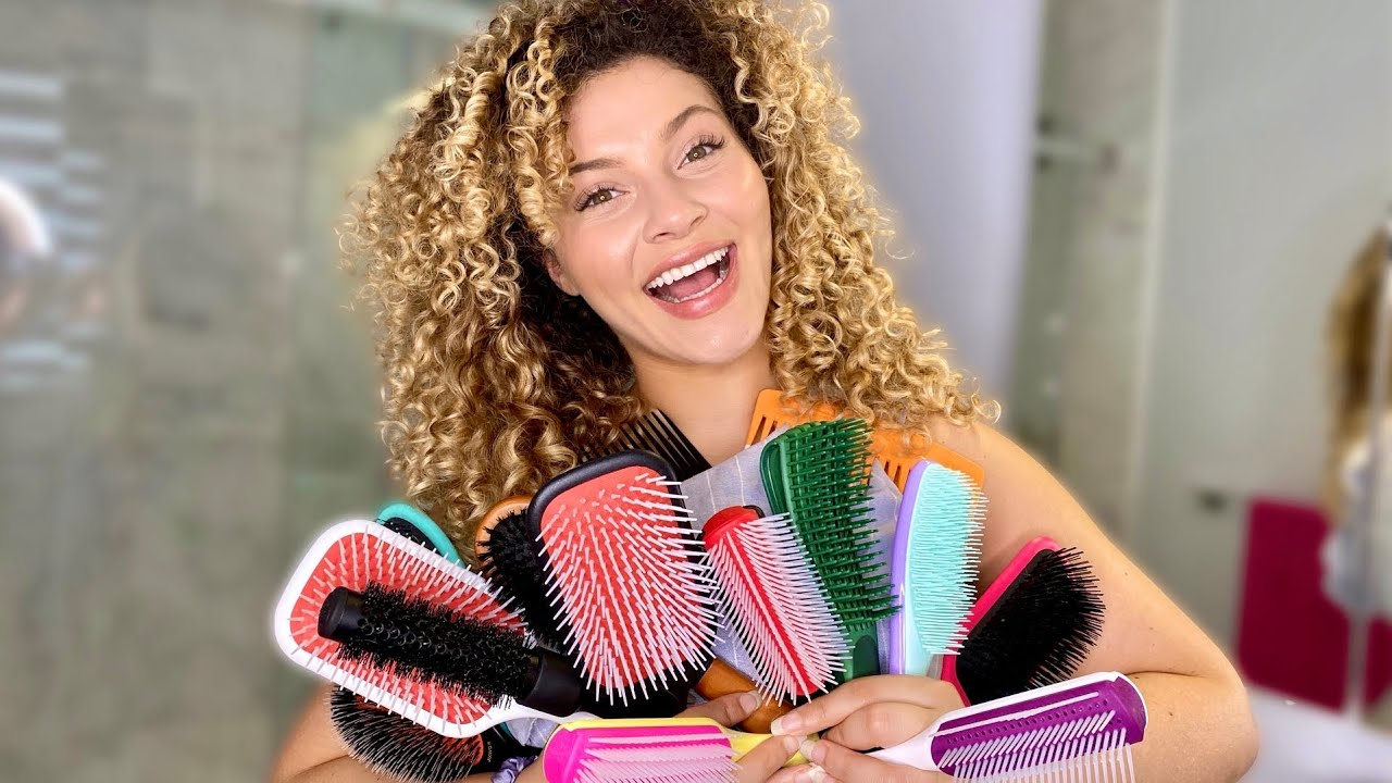 The Best Detangling and Styling Tips for Your Hair Type + Brushes Explained