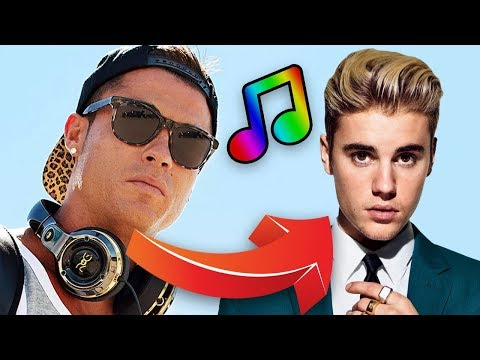 30+ Footballers & Their Favourite Music! Ronaldo, Neymar, Messi, Ibrahimovic & More!