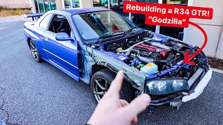 SHOPPING FOR THE ULTIMATE NISSAN GTR TO BUY! * R34 vs R35? *