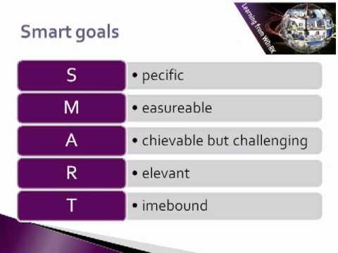 Mentoring Skills: Goal setting