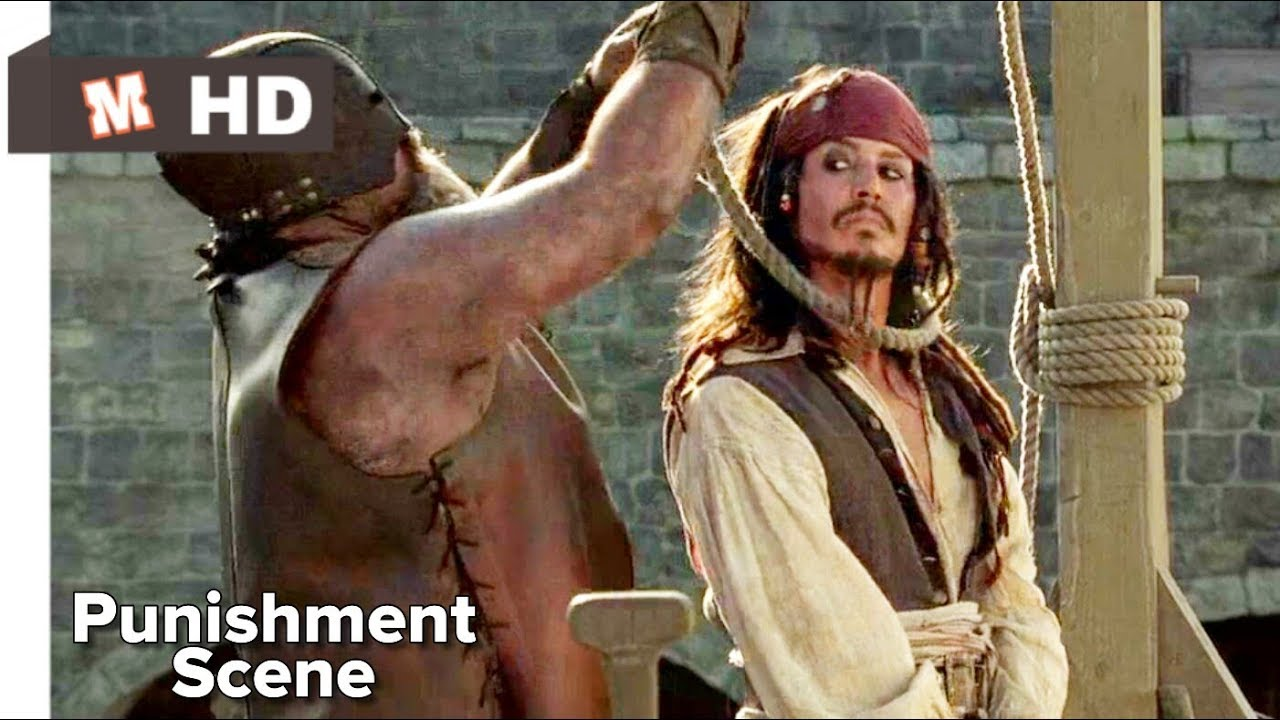Download Pirates of Caribbean Hindi The Course of Black Perl Jack Sparrow Escape Scene