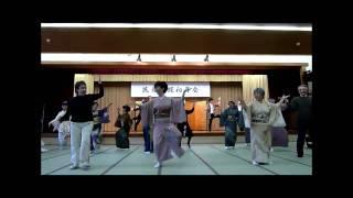 民舞教室(民舞胡蝶)のみんなでNHKの連続テレビ小説の「てっぱんダンス」...