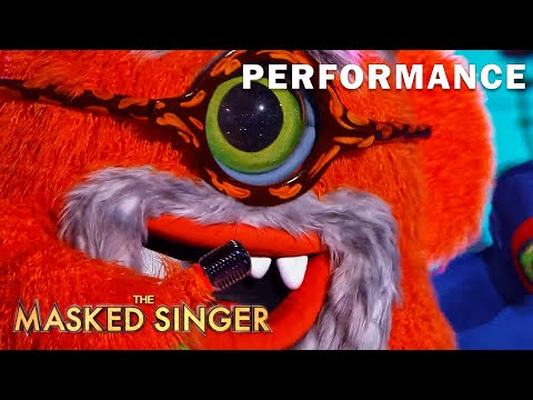 "Grandpa Monster sings ""Bad Reputation"" byJoan Jett | THE MASKED SINGER | SEASON 5"