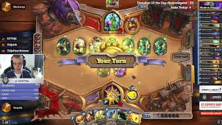 Thijs is going into Top 20 Legend with a Medivh Freeze mage (Journey to Un'Goro)