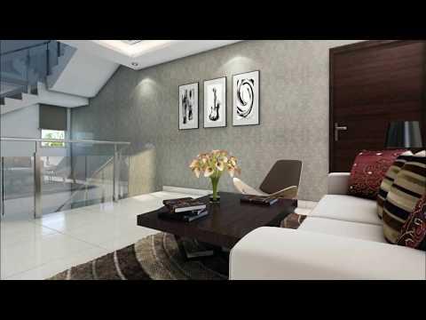 APR Praveen's Luxuria Typical 3/4 BHK Duplex Villa Interior Views