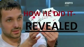 Download Video How DYNAMO did the card trick at TOTT -- REVEALED MP3 3GP MP4