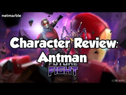 [Marvel Future Fight] Character Review: Antman