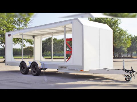 Enclosed Futura Super Tourer Pro Drop Deck Trailer